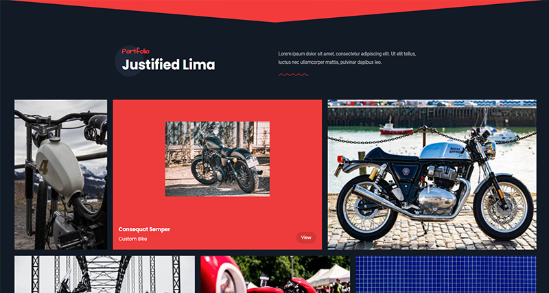 Justified Motorcycle