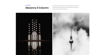 Masonry 2 Column