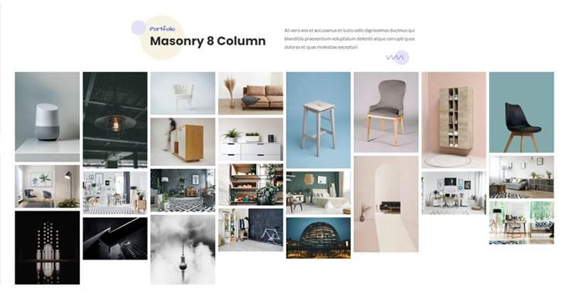 Masonry 8 Column
