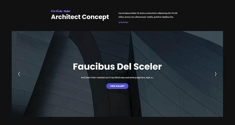 Slider Architect
